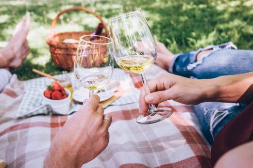 wijntje in het park